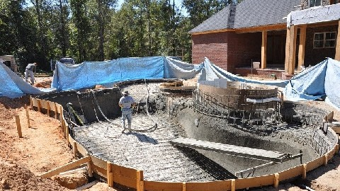 What 39 s involved in building a shotcrete swimming pool - California swimming pool building codes ...